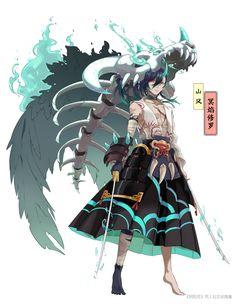 《阴阳师》手游同人社区_阴阳师同人美图_同人小说|美文_同人漫画|cos|壁纸_《阴阳师》手游官网_网易和风匠心巨制,开启唯美奇幻之旅 Fantasy Character Design, Character Design Inspiration, Character Concept, Character Art, Concept Art, Anime Fantasy, Fantasy Art, Fantasy Characters, Anime Characters