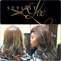 Custom Color and Highlights - Full head of extensions Stylist Lee ✈L.A stylistlee Instagram photos | Websta (Webstagram))#hair #hairidea #naturalhair #weaves #extension #la #lahair #lahairstylist #Hollywood #lastylist #losangeleshairstylist #laceclosure
