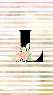 Grace and Josie: iPhone Wallpaper Freebies - Monogram Series