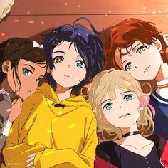 Chica Anime Manga, Kawaii Anime, Anime Guys, Anime Egg, Eren Aot, Anime Friendship, Japon Illustration, Animes Yandere, Cute Anime Pics