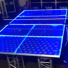 LED Ping Pong Table | Vancouver PartyWorks