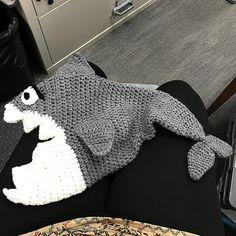 Shark Hat / Residual Limb Cover by Alana Judah