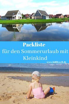 Packliste für den Sommerurlaub mit Kleinkind, Urlaub, Koffer packen, Reisen mit Kind, Holiday