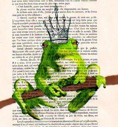 Cocodeparis イラストアート Prince Frog