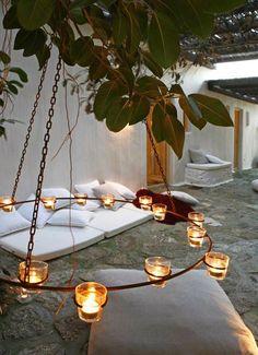 Las Cositas de Beach & eau: ideal candelabro........................EXTERIOR PARA NO ENTRAR!!!!!!!!!!!!!!!!!!!