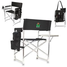 Marshall Thundering Herd Sports Chair - Black - $99.99
