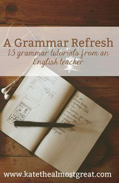 """""""Need Grammar Help?"""" gives thirteen tutorial lessons that may be used in or out of the classroom. For example, one usage lesson is on misplaced modifiers and explains how they create confusion in sentences and gives easy solutions to correcting."""