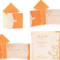 Invitaciones de boda 2012 – Colección Kyoto