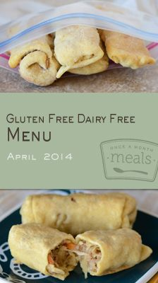 The Gluten Free Dairy Free April 2014 Menu takes inspiration from the familiar flavors of popular asian and mexican dishes and will add a little ethnic flair to several of your meals this month.