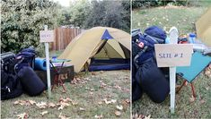 Camping Party Theme - fun, especially for boys, you could make some damper and do some team activities.
