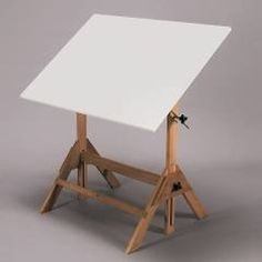 Martin Universal Royal Elm Drafting Table with inch Top - The Martin Universal Design Royal Elm Table is crafted of solid red elm that is finished in water-resistant tung oil. Its x melamine top. Architect Table, Drawing Desk, Big Desk, Home Furnishings, Furniture, Home Decor, Drafting Tables, Tung Oil, Dream Studio