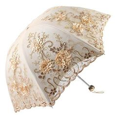 Luxury Lace UV Umbrella - Gifteee - Unique Gift Ideas for Adults & Kids of all ages. The Best Birthday Gifts & Christmas Gifts. Fancy Umbrella, Uv Umbrella, Vintage Umbrella, Umbrella Stands, Sun Parasol, Lace Parasol, Umbrellas Parasols, Unique Gifts For Women, Best Birthday Gifts