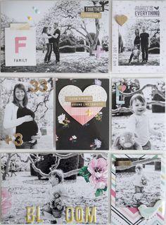 PL Seite mit Crate Paper / Maggie Holmes *Bloom* - von Ulrike Dold
