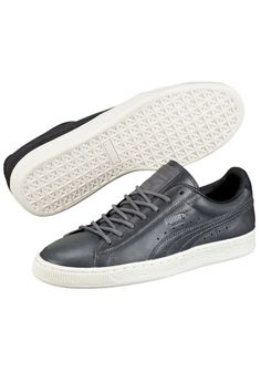 d1654612bdc4 Scarpa Puma Basket Citi Series Steel Grey Puma Cat