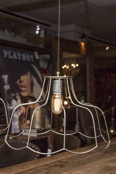 Wire Shade #lighting #hanginglight
