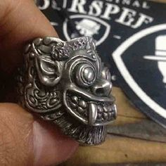 Deadleaf skull ring available only at : www.fourspeed.com www.fourspeedmetalwerks.bigcartel.com email : info@fourspeedweb.com