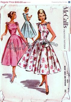 McCall's 3659.  I really love princess seams.