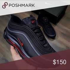 Airmax97 In good conditions Nike Shoes Sneakers Women's Sneakers, Sneakers Sale, Leather Sneakers, Sneakers Workout, Hypebeast Sneakers, Sneakers Fashion, Yellow Sneakers, Fashion Shoes, Nike Shoes Men