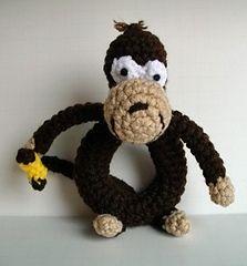 Monkey Rattle - $3.00 by Gina Renee' Padilla