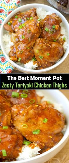★★★★★ 977 Reviews : #Moment #Pot #Zesty #Teriyaki #Chicken #Thighs  Delicious and healthy family choice special food and drink  Moment Pot Zesty Teriyaki Chicken Thighs   These are probably the most staggering Moment Pot hot teriyaki chicken thighs I've at any point made in my weight cooker! Clammy chicken with a thick sweet and zesty custom made teriyaki sauce you and your children will love. Solid supper stacked with bunches of flavor and made in under 15 minutes! Make Teriyaki Sauce, Hoisin Sauce, Teriyaki Chicken, Japanese Chicken, Good Food, Yummy Food, Chicken Thigh Recipes, Chicken Thighs, Dinner Recipes