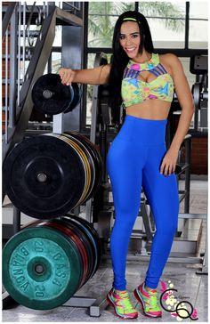 Conjunto Deportivo Ref. 566-6  Ropa Deportiva Para Mujer by Claudia Quintero