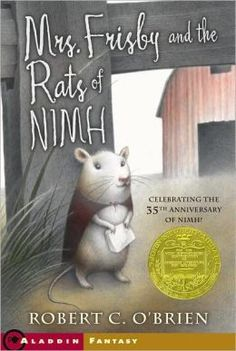 Mrs. Frisby and the Rats of NIMH - With nowhere else to turn, a field mouse asks the clever escaped lab rats living under the rosebush to help save her son, who lies in the path of the farmer's tractor, too ill to be moved.