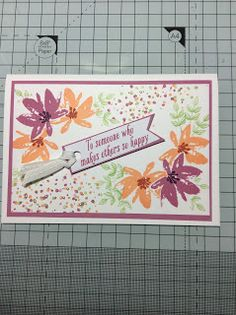 The art of UK Stampin' Up! Demonstrator Jane Allmark - 07894 440522 - allmark.j@sky.com