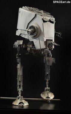 Star Wars: AT-ST - Giant, Statue / Fertig-Modell ... https://spaceart.de/produkte/sw115.php
