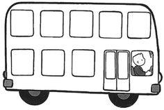 (2017-03) Bus uden passagerer ~ sort/hvid