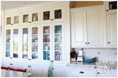 Love the built-in cabinetry.