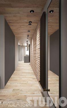 Przedpokój w stylu loftowym #loft #styl industrialny #wnętrza
