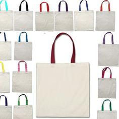 edd101887b Economical 100% Cotton Reusable Wholesale Tote Bags TOB293