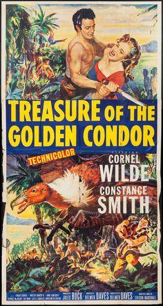 Treasure of the Golden Condor (1953)Stars: Cornel Wilde, Constance Smith, Finlay Currie, Anne Bancroft, George Macready, Fay Wray, Leo G. Carroll ~ Director: Delmer Daves