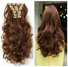 Are u crazy about colorful hair but scare to dye your hair?? Dye hair extensions and clip in,easy wear and amazing.