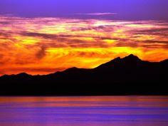 Puget Sound, Olympic Mountains, Washington