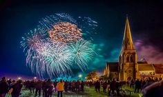 Fireworks over Blackheath 2015