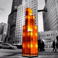 Check this guy out (AHdidit)! His custom lamps are wicked cool!! Chi-Tower in Chi-Town.   AHdidit on the streets.