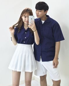 Couple Outfit Ideas Collection korean couple fashion outfits ideas for couples Couple Outfit Ideas. Here is Couple Outfit Ideas Collection for you. Couple Outfit Ideas korean couple fashion outfits ideas for couples. Korean Couple Fashion, Korean Fashion Ulzzang, Date Outfits, Outfits For Teens, Summer Outfits, Casual Outfits, Church Outfits, Matching Couple Outfits, Matching Couples