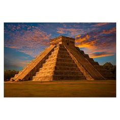 Add a fun twist to your Mexican or jungle themed Prom or Homecoming event with this stately Chichen Itza Photo Mural, depicting the famous Mayan pyramid Photo Mural, Art Club, Prom, Building, Aztec, Travel, Ideas, Senior Prom, Viajes