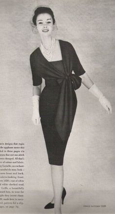 Vogue Paris Original 1449, Griffe (1959) - as pictured in Vogue