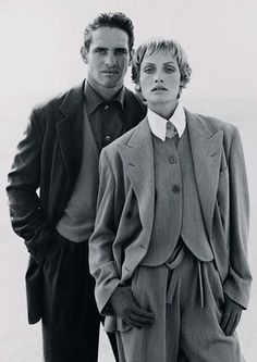 Vintage Outfits – Page 7884375973 – Lady Dress Designs Couple Style, Vintage Outfits, Vintage Fashion, Vintage Men, Armani Jeans, 80s Suit, Look 80s, Ballet Russe, Armani Suits
