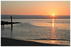 Walvis Bay Sunset, Namibia