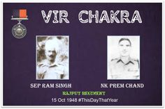 Awarded #VirChakra for displaying initiative & Courage in the face of enemy. Demonstrated complete devotion to http://duty.pic.twitter.com/0aUy8IIeRN #IndianArmy #Army