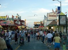My childhood vacation spot!!  Wildwood, NJ