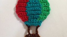 How To Crochet A Hot Air Balloon Applique For Kids - DIY Crafts Tutorial...