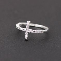 sideways cross rings with swarovski.. I think I'm going to get this!!!:)
