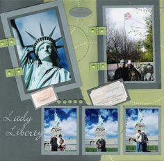 Lady Liberty Pg1 - Scrapbook.com