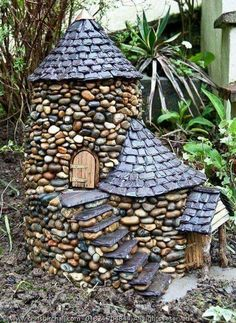 Stone  fairy  home by Chris  Birchall