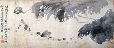 TAI OI YEE'S FAVOURITE ARTISTS Xu Wei was a Ming dynasty painter, poet, writer and dramatist famed for his artistic expressiveness. His bold, revolutionary painting style … Japanese Painting, Chinese Painting, Lotus, Chinese Brush, Modern Masters, Ink Painting, Rice Paper, Moose Art, Flow