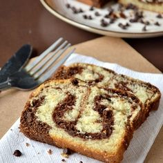 So Soft, Light & Delicious Marble Cake ~ Eggless recipe with step wise pictures!